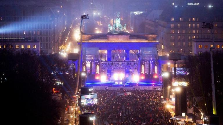 Willkommen 2018 Silvesterparty Am Brandenburger Tor