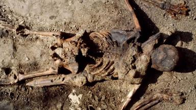 Zdfinfo - Rätselhafte Tote: Der Legionär Von Herculaneum