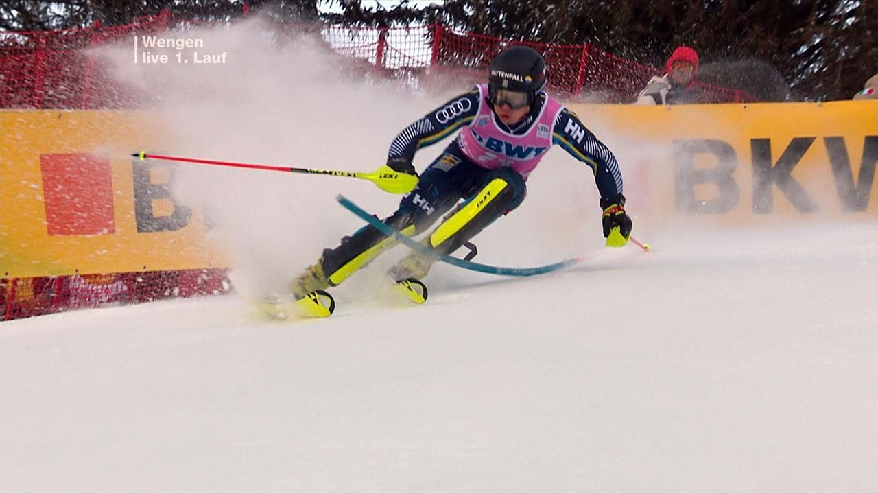 Slalom Ergebnisse Herren Heute