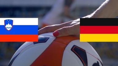 Zdf Sportextra - Frauenfußball: Slowenien - Deutschland Am 10. April