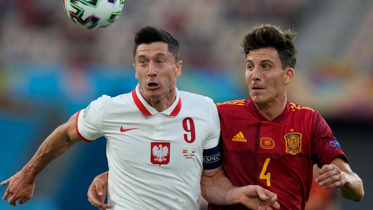 Fußball-EM 2020: Spanien stolpert über Polen - ZDFheute