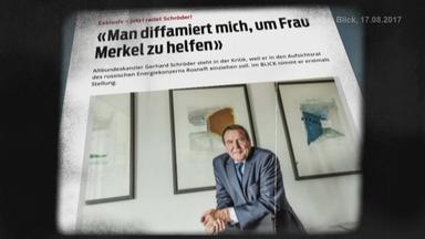 Gerhard Schröder zu Russlandkontakten.