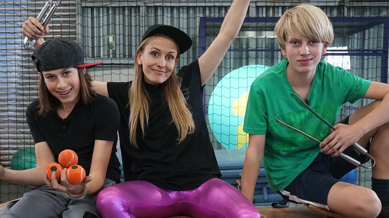 Die Sportmacher: Parkour, Ballett und Turnen - ZDFmediathek