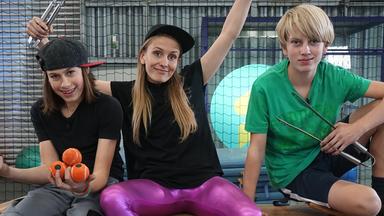 Zdftivi: Die Sportmacher - Die Sportmacher: Parkour, Ballett Und Turnen