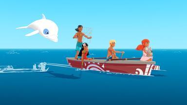 Zoom - Der Weiße Delfin - Zoom - Der Weiße Delfin: Um Die Wette Fischen