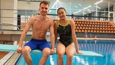 Zdftivi: Die Sportmacher - Wasserspringen, Sporträtsel Und Fußball Mal Anders