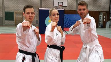 Zdftivi: Die Sportmacher - Punkte Im Karate Und Radsport Im Team