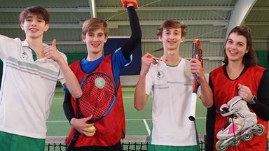 Zdftivi: Die Sportmacher - Tennis, Ringen Und Harte Würfe