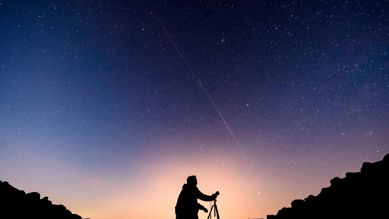 Starlink Am Himmel