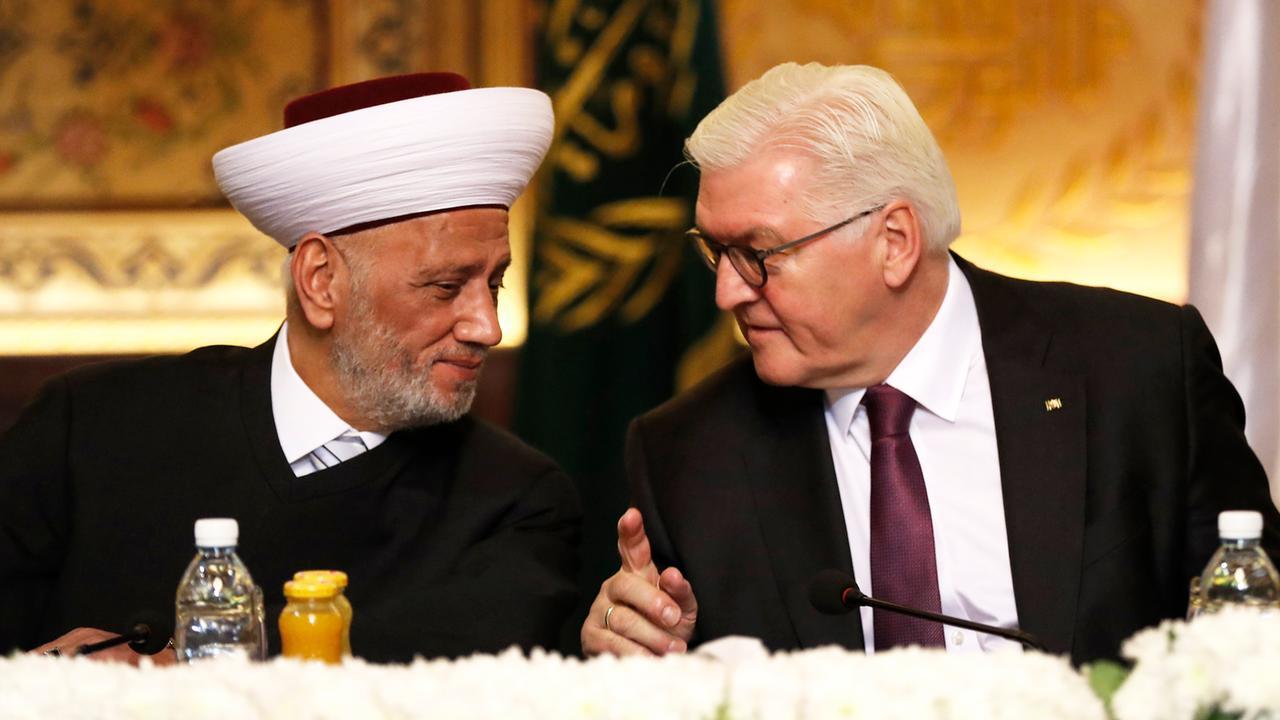 Frank Walter Steinmeier Br Ckenschlag Im Nahen Osten