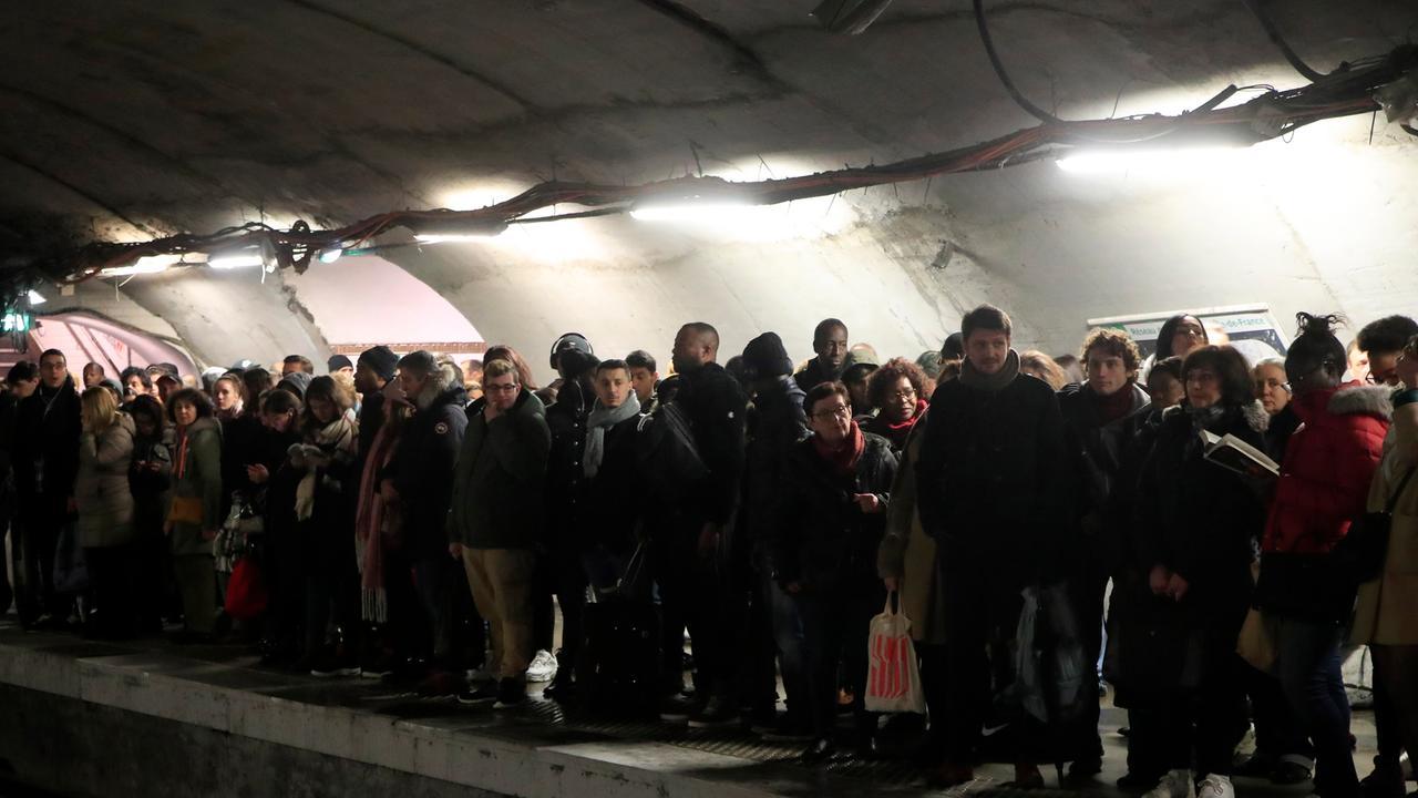Streik Frankreich Heute