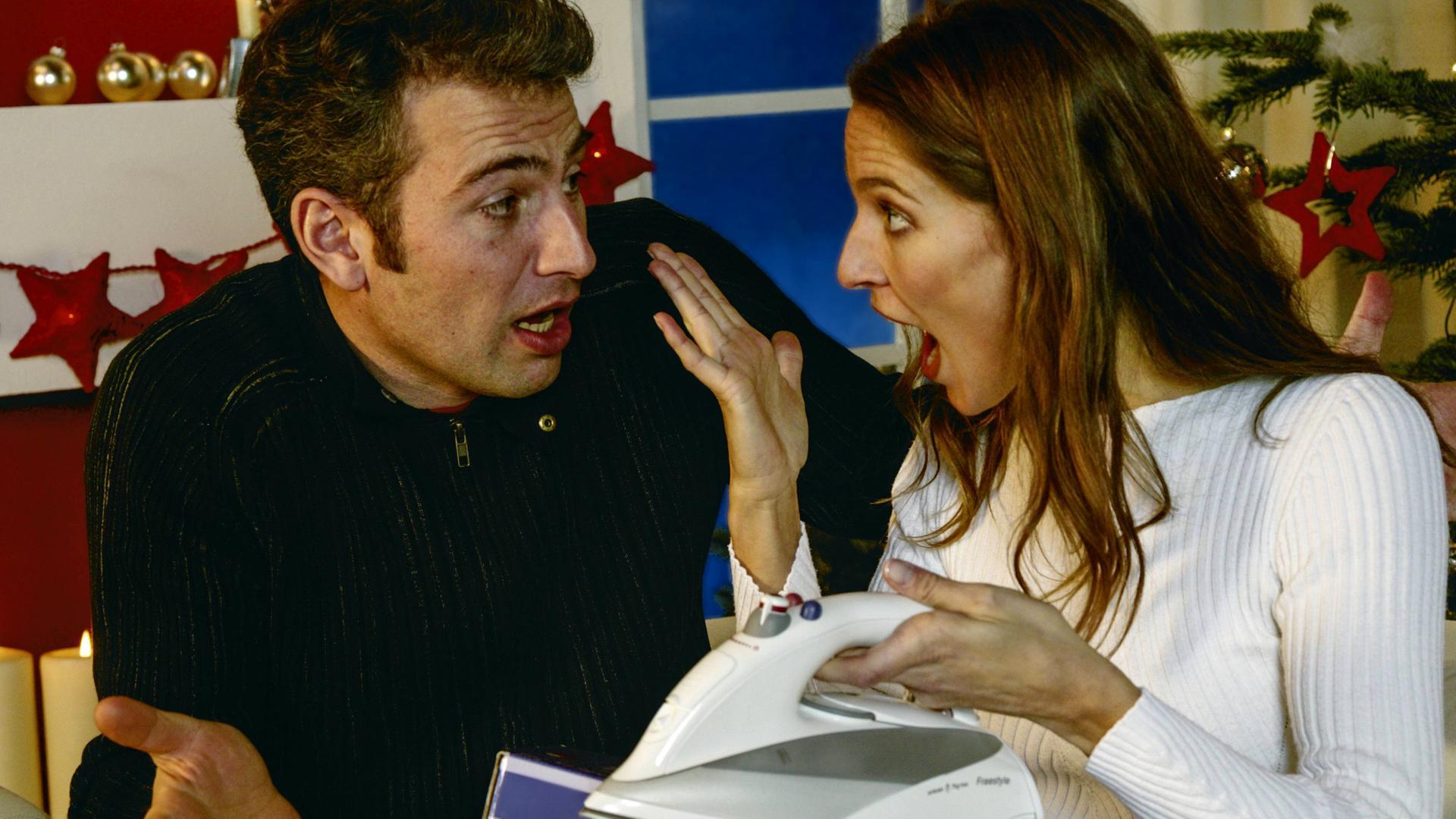Beziehungsstress an Weihnachten: \