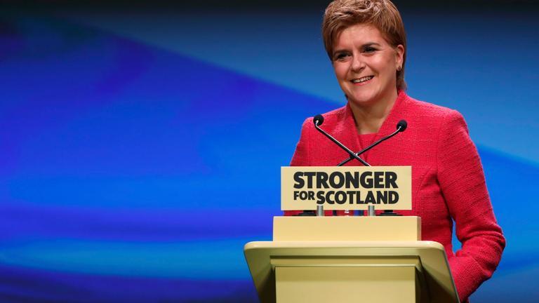 Schottlands Regierungschefin Sturgeon