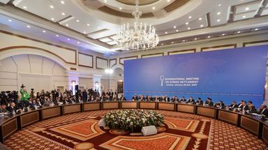 syrien-verhandlungen in kasachstan