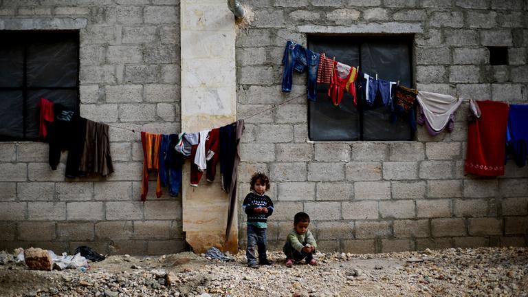 Syrische Kriegskinder