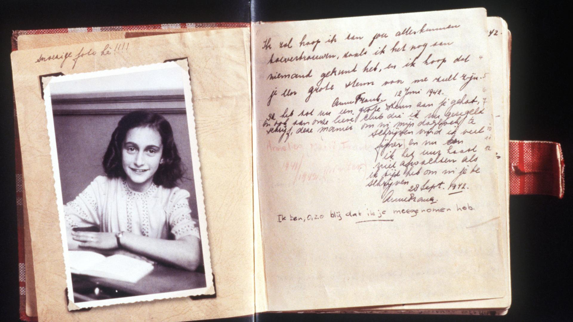 anne franks tagebuch - Anne Frank Lebenslauf