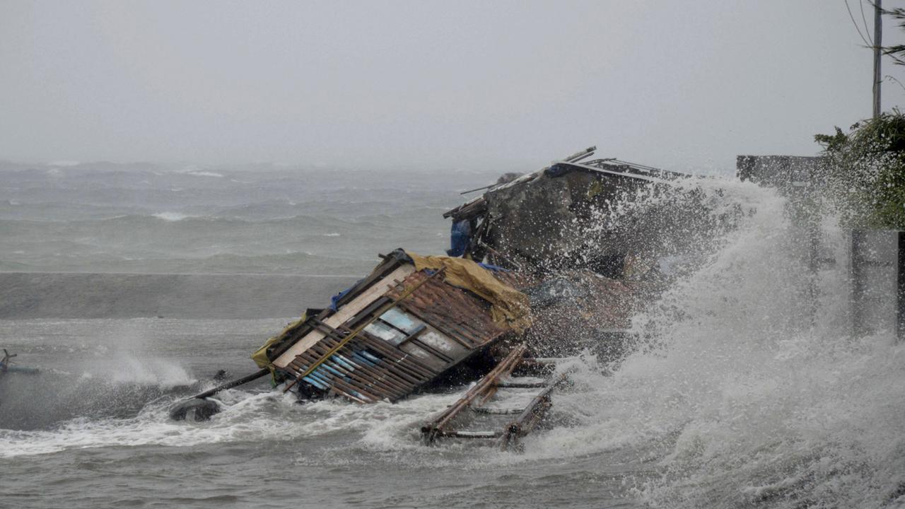 Philippiner verzweifeln angesichts Klimakrise