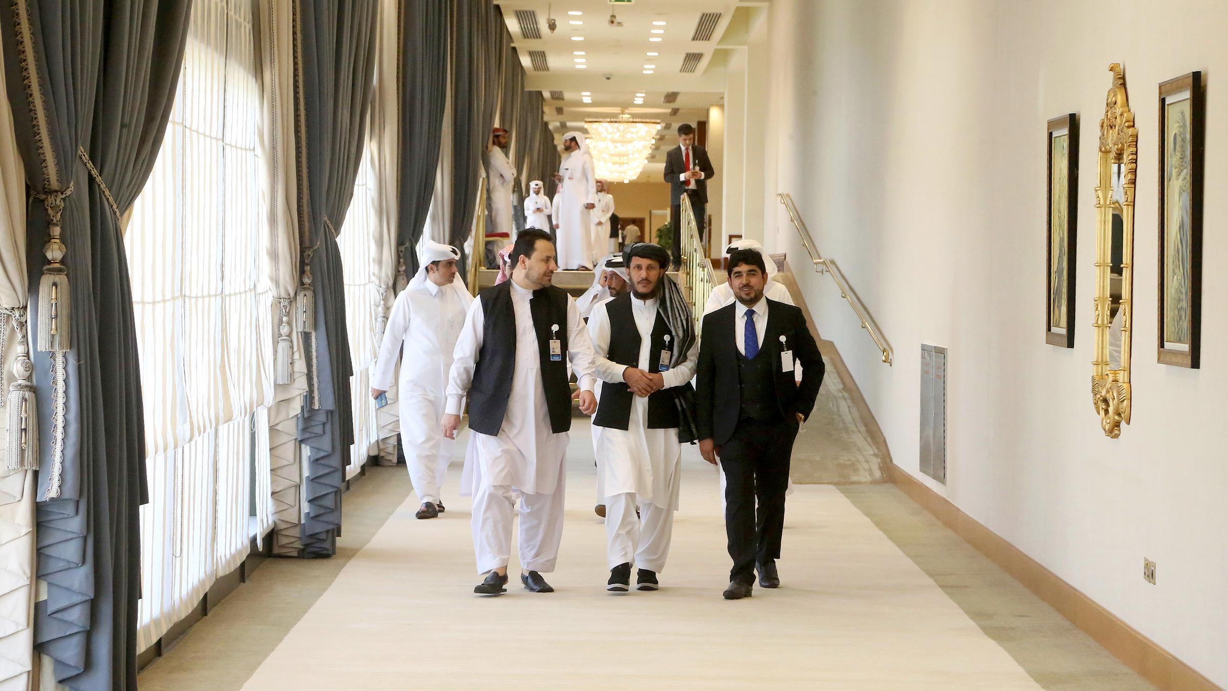 Taliban-Delegation trifft in Doha für Abkommen mit den USA ein