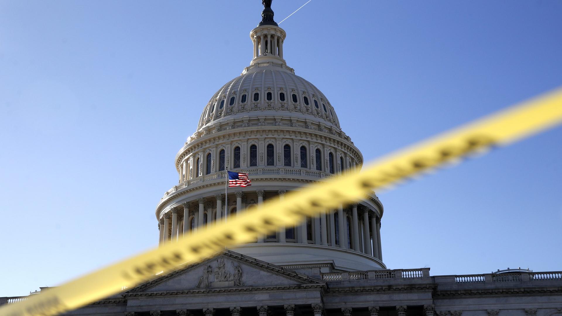 US-Haushaltssperre: \