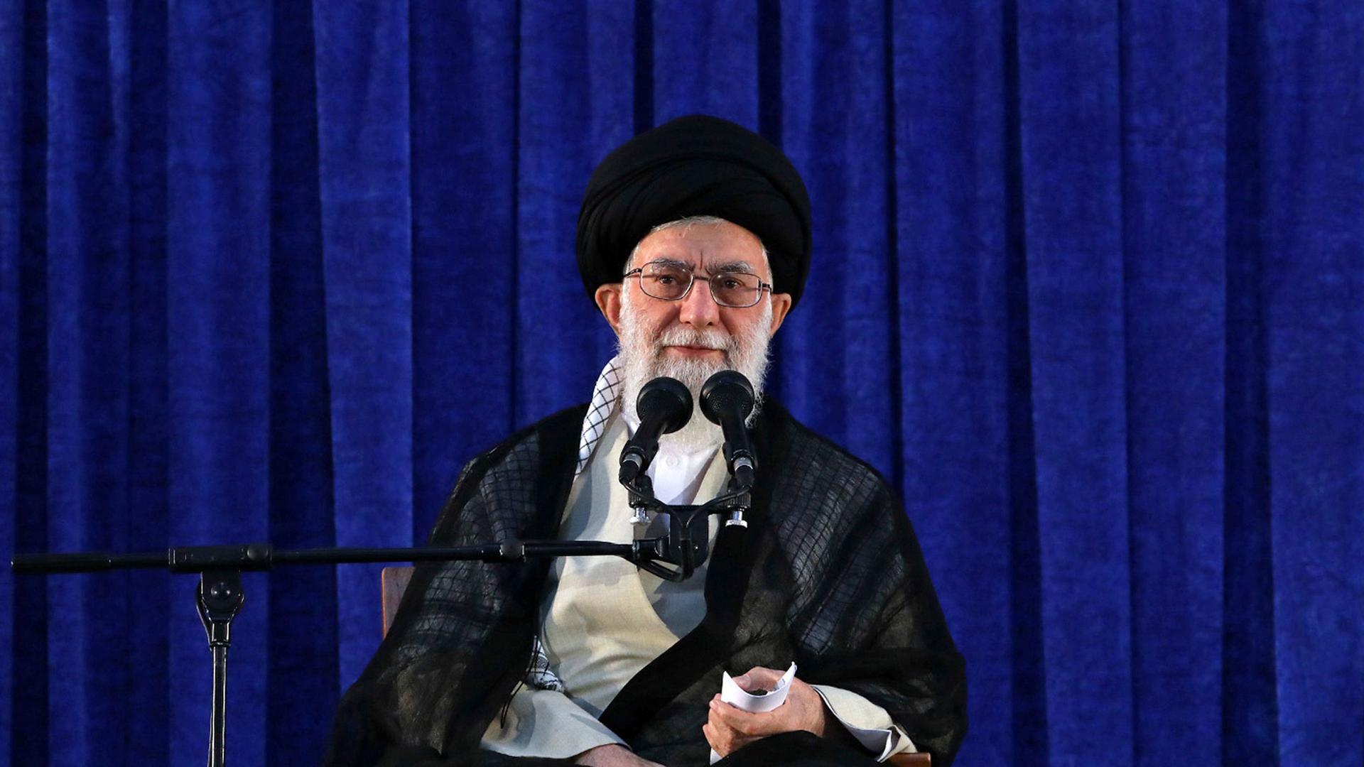 Die iranische Regierung datiert Website