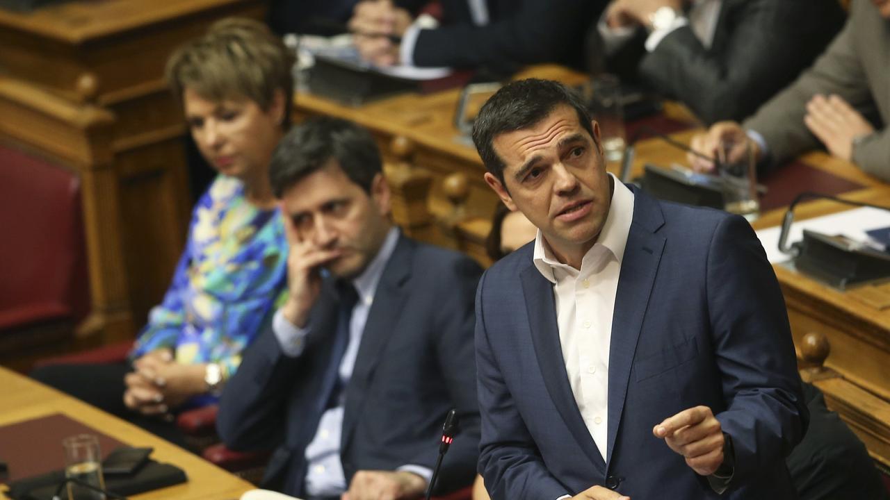 Namens-Kompromiss im Parlament: Misstrauensantrag gegen Tsipras