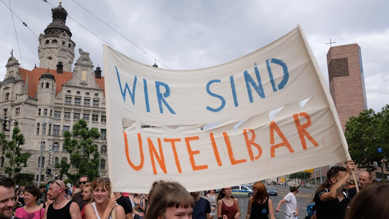 Demo Heute In Dresden