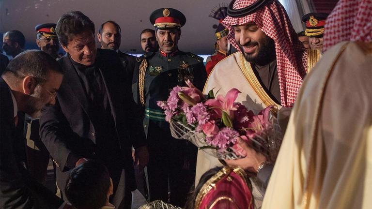 Mohammed bin Salman besucht Pakistan