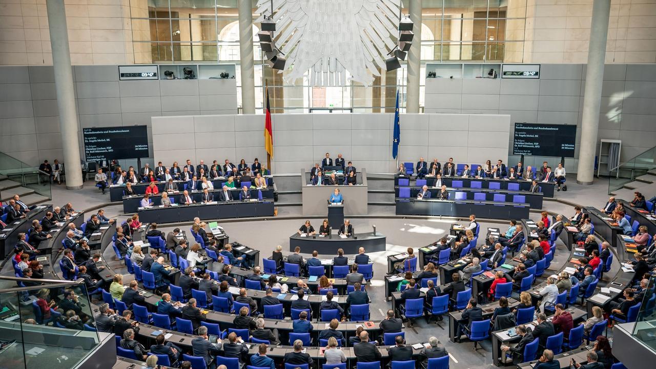 Bundestag Debatte