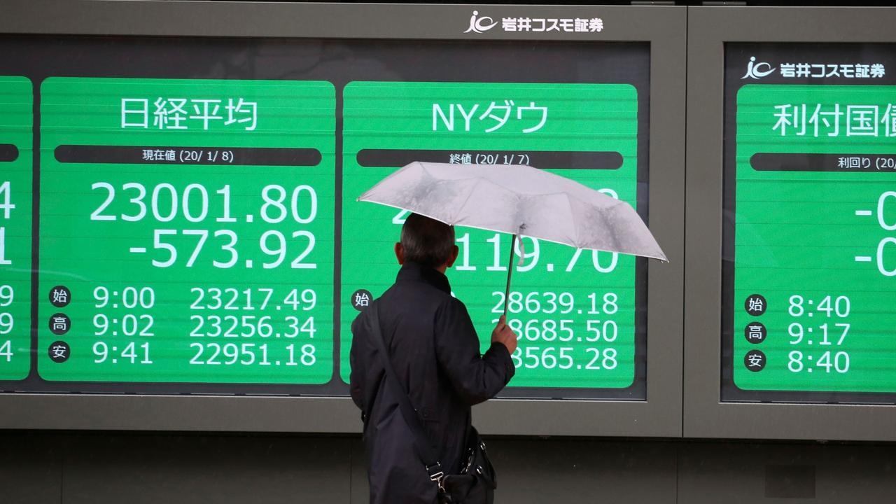 Börsen Asien Heute