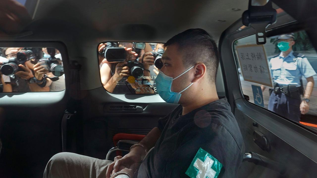 """""""Sicherheitsgesetz"""": Neun Jahre Haft für Hongkonger"""