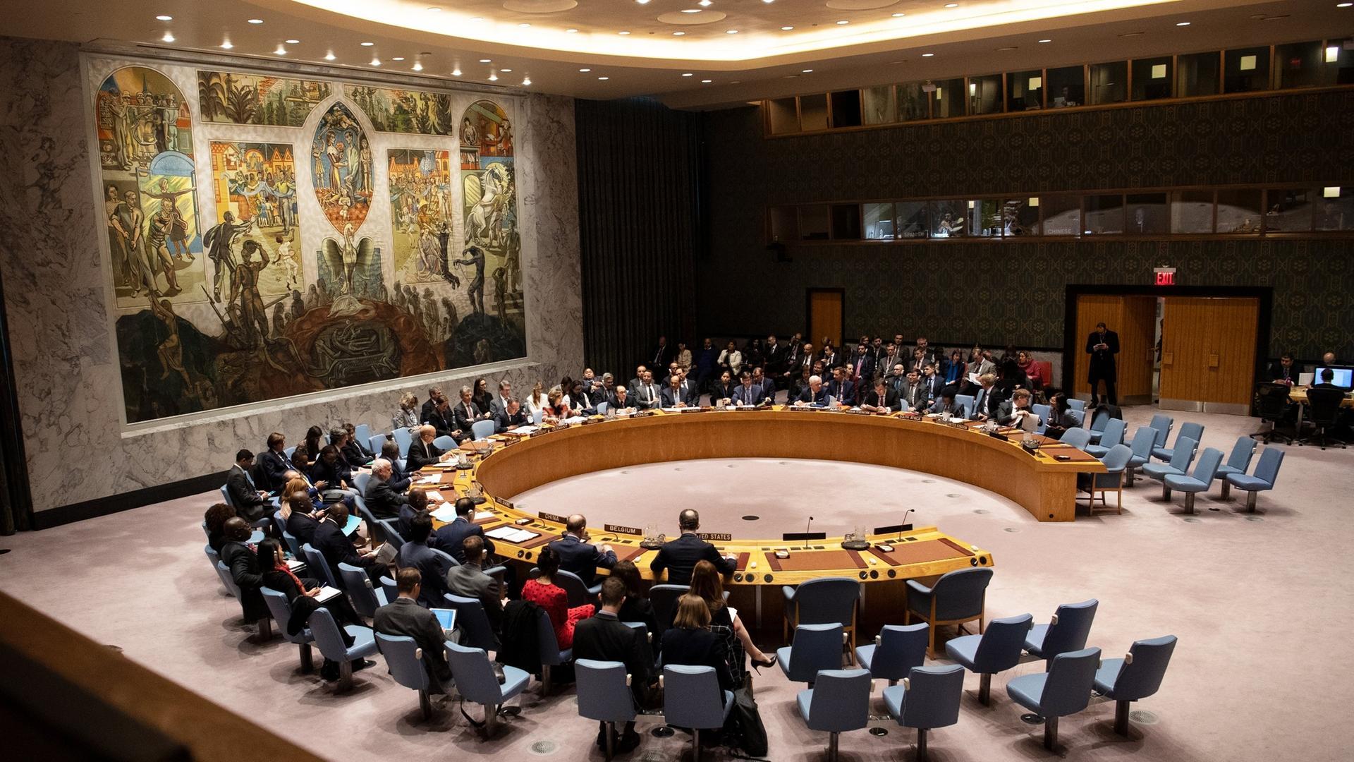 Sicherheitsrats-Treffen zu Libyen