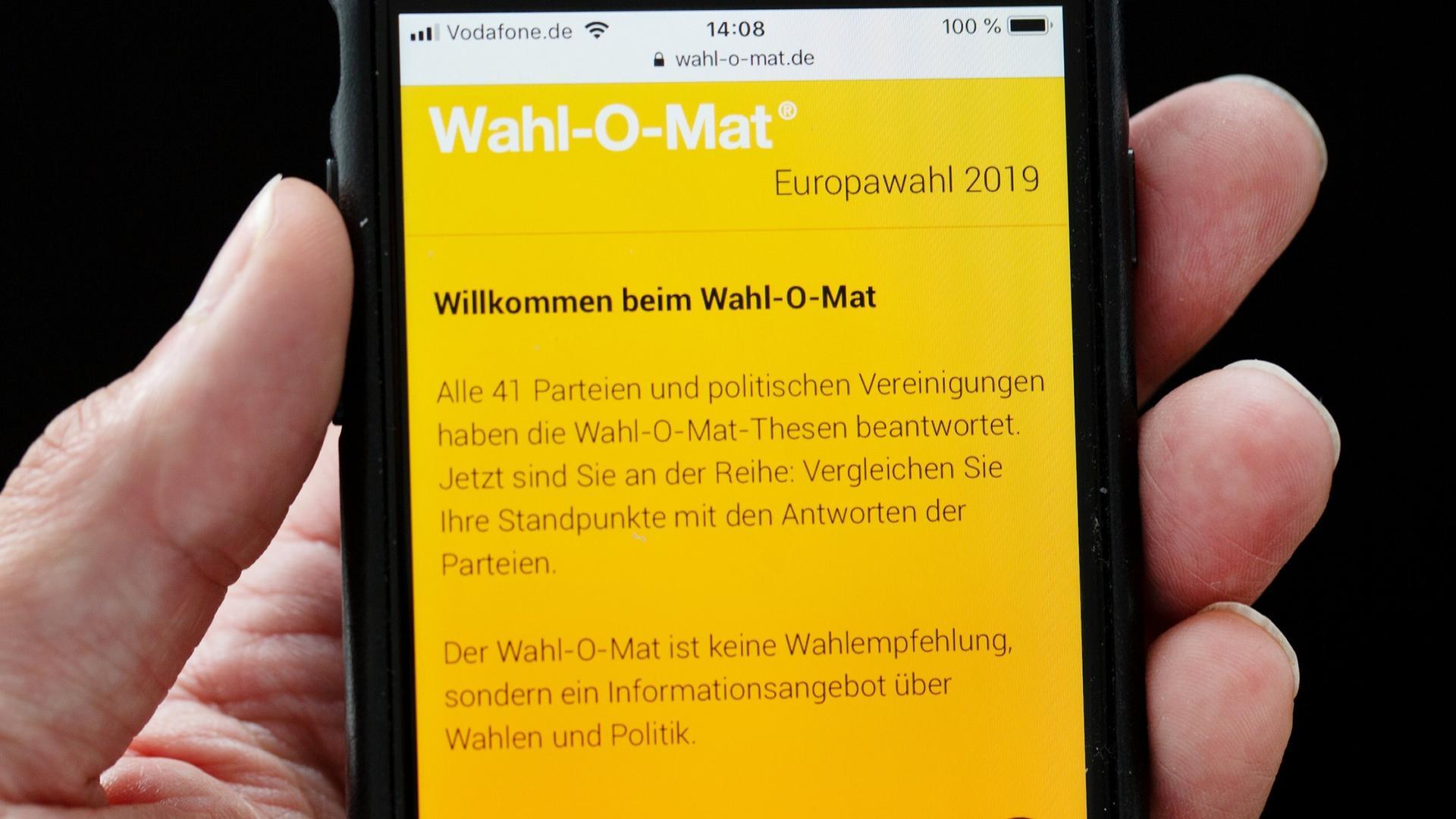 Wahl-O-Mat stellt Abrufrekord auf