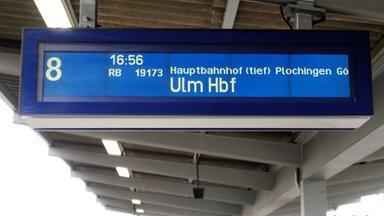 Neubau Der Strecke Stuttgart Ulm Ulm Vom Fernverkehr