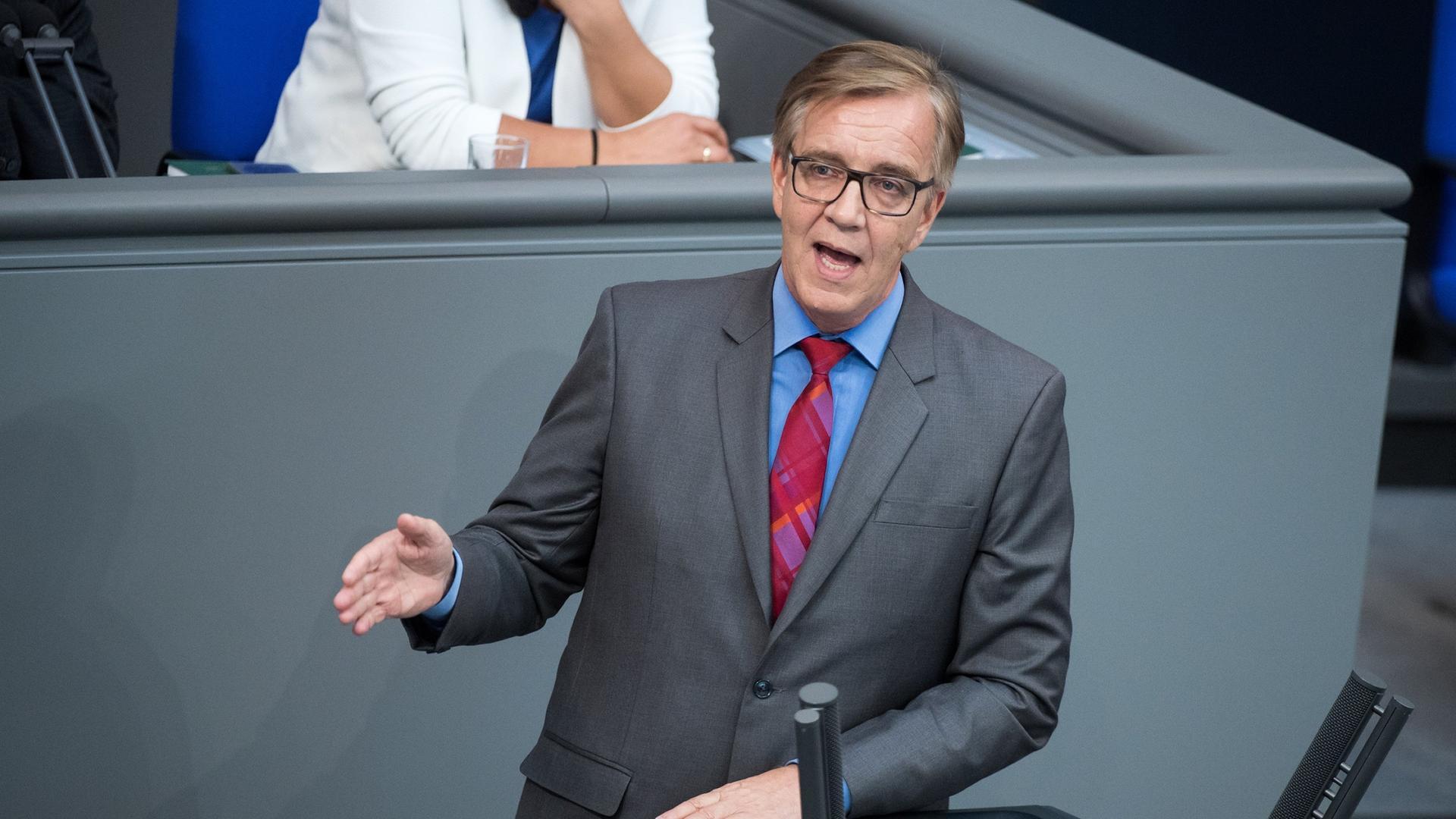 dietmar bartsch vorsitzender der bundestagsfraktion der linken - Christian Sievers Lebenslauf