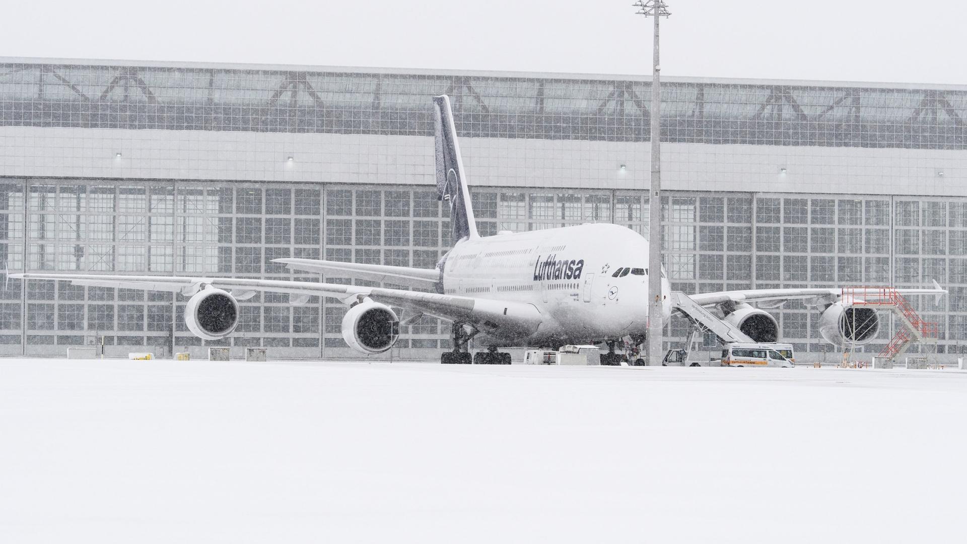 Winterliches Wetter Flüge An Zwei Airports Gestrichen Zdfmediathek