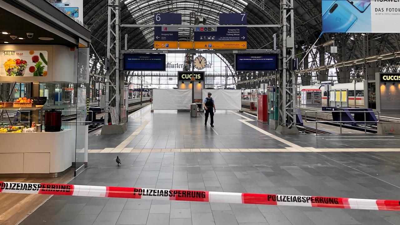 Polizeieinsatz Frankfurt Heute