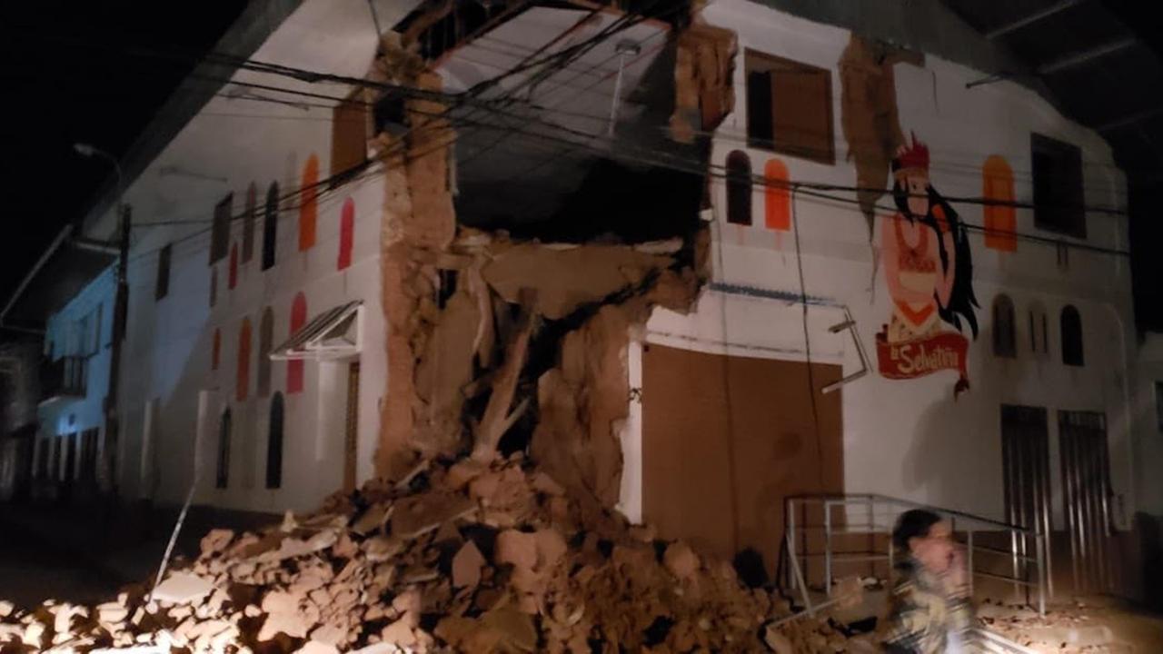 Peru Erdbeben Heute