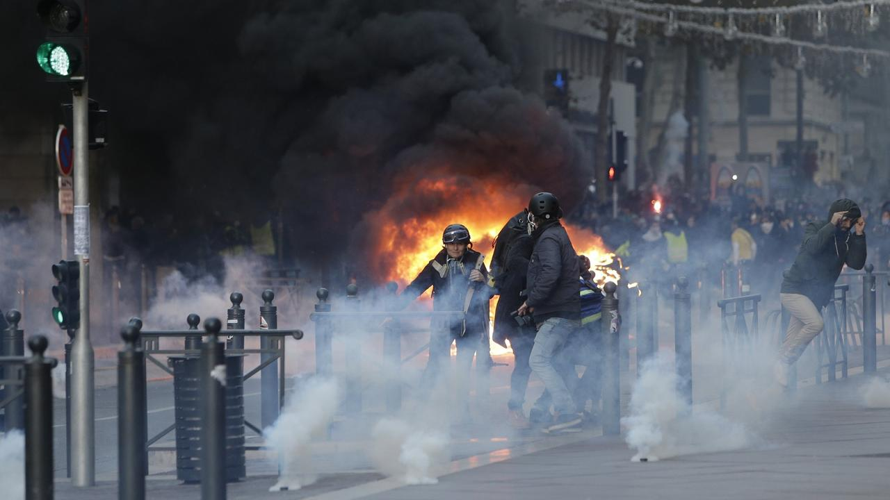 bbc france fuel unrest - 1000×667