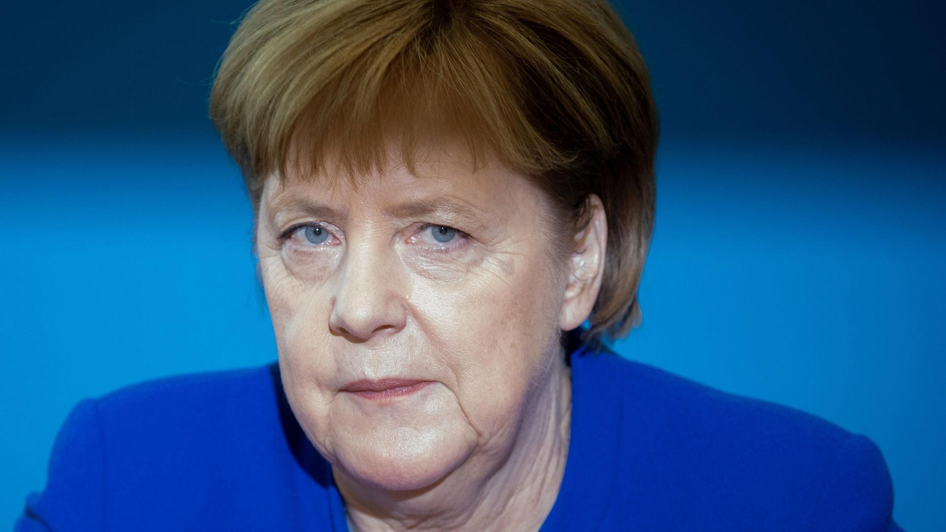 Kanzlerin Merkel nimmt an der UN-Migraktionskonferenz teil.