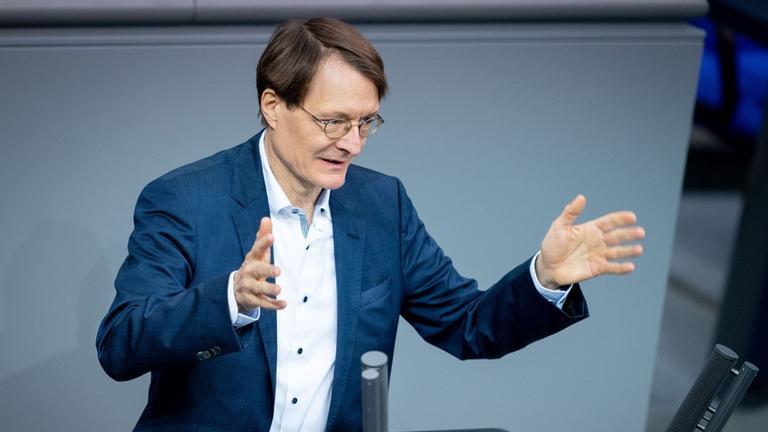 Karl Lauterbach Im Interview Wirtschaft Kann Sich Erholen Tote Nicht Zdfheute