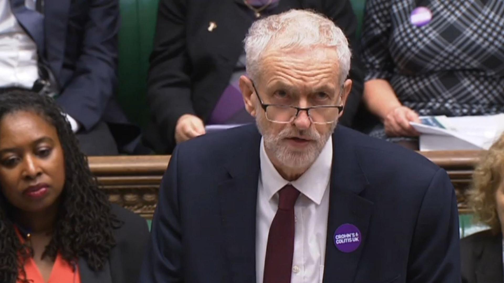Labour-Chef Jeremy Corbyn will keinen Brexit ohne Vertrag