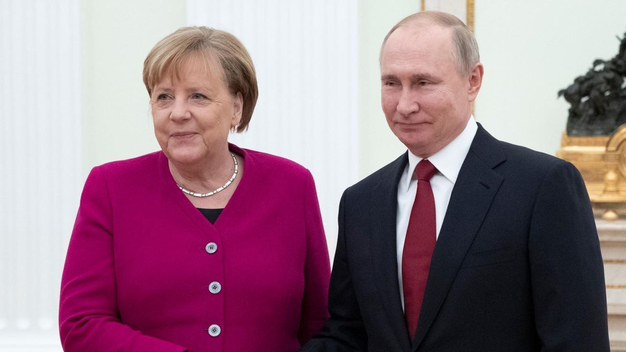 Nachrichten Putin Merkel