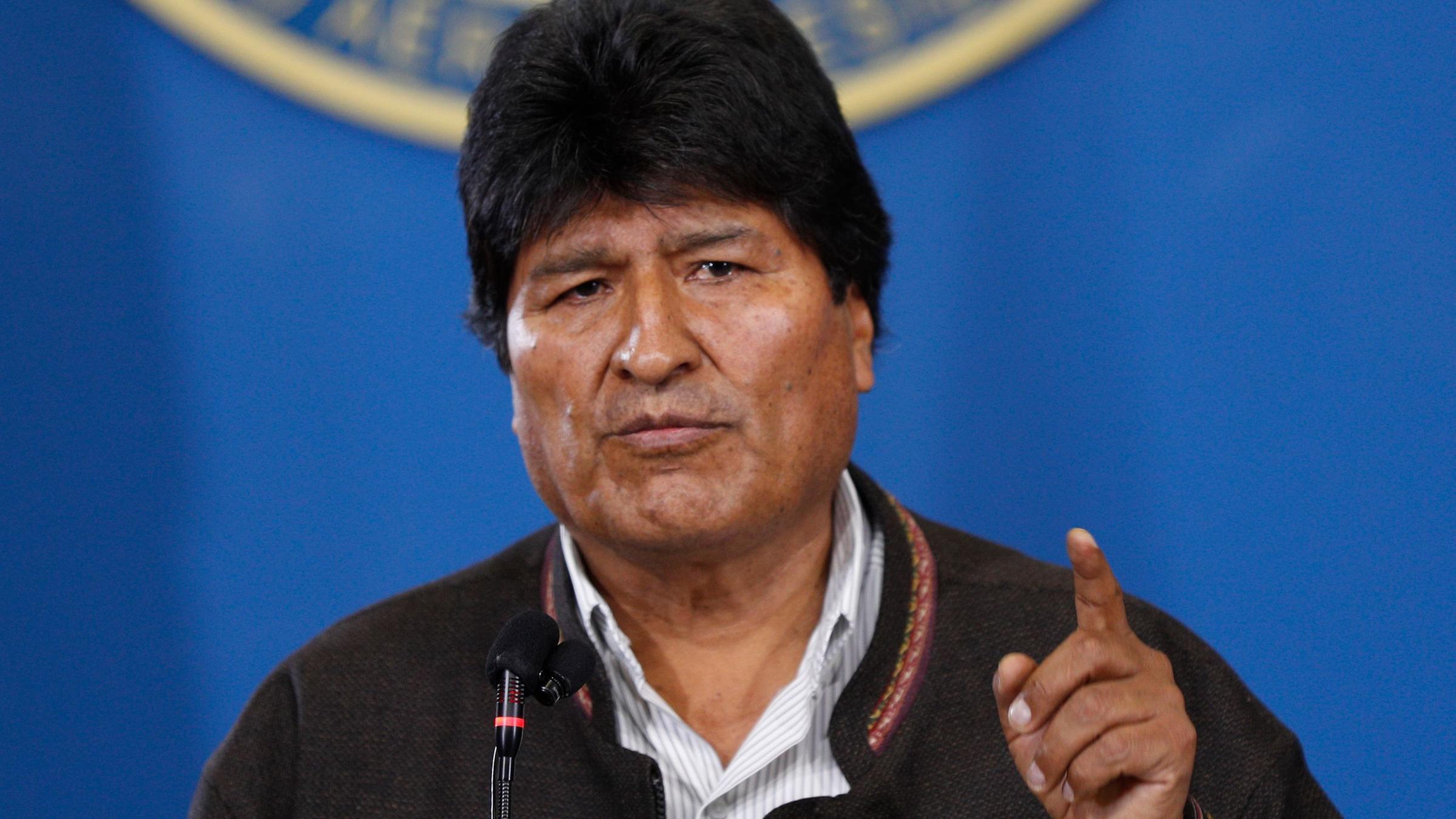 bolivien morales