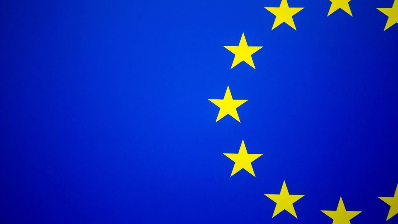Sterne Auf Der Eu Flagge