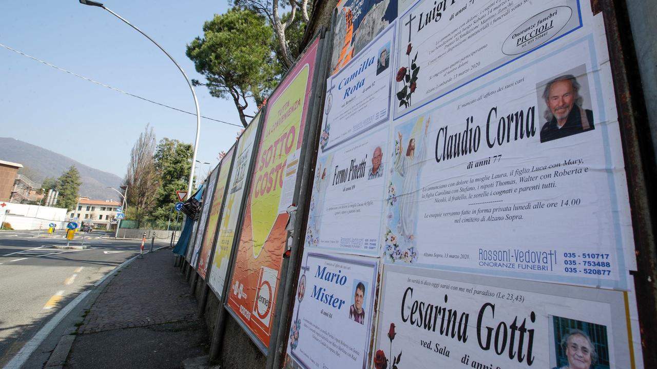 Italien Korrigiert Corona Tote