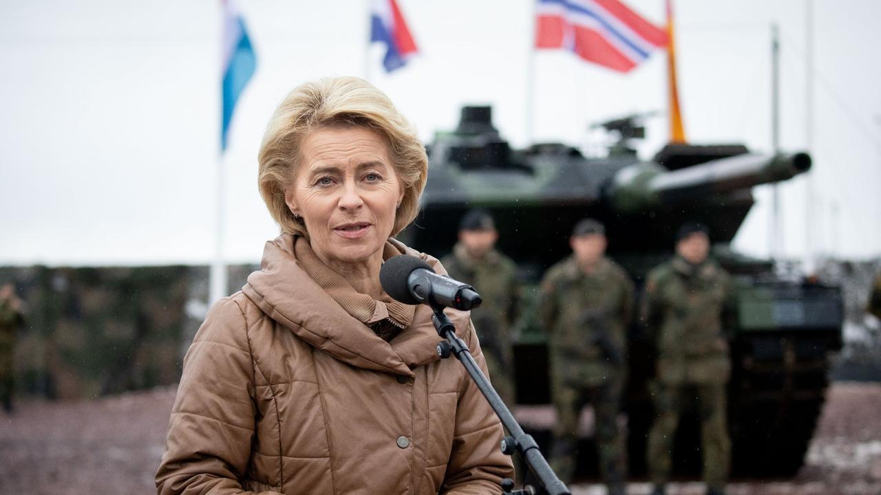 Impuls für Bundeswehr: Von der Leyen lobt Nato-Einsatz