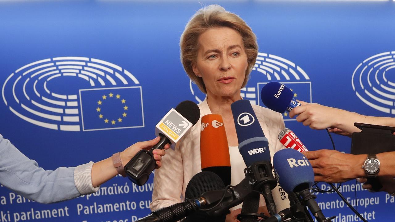 Europaparlament Wahl Von Der Leyen