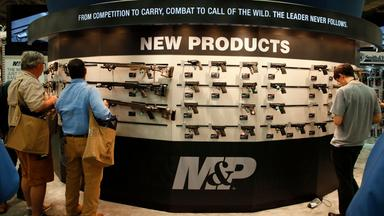 Waffenkäufer in den USA (Archiv)