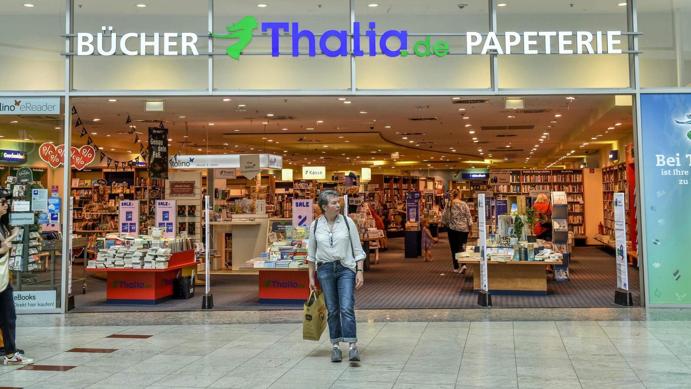 Eine Thalia-Buchhandlung in Bremen