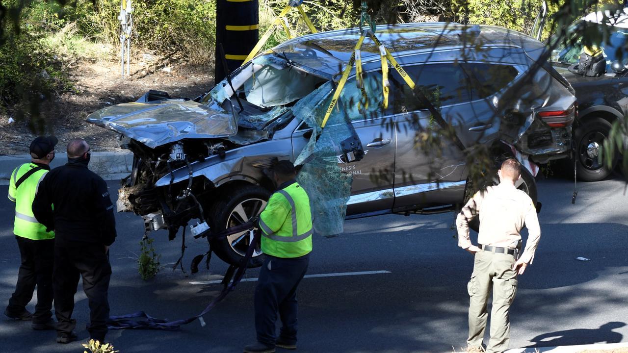 Autounfall von Tiger Woods: Keine Betäubungsmittel im Spiel - ZDFheute